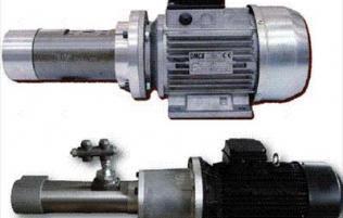 Low pressure 3 Screw pump
